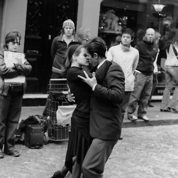 Tango en San Telmo, Buenos Aires by Manuel