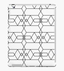 Abstract linear pattern iPad Case/Skin