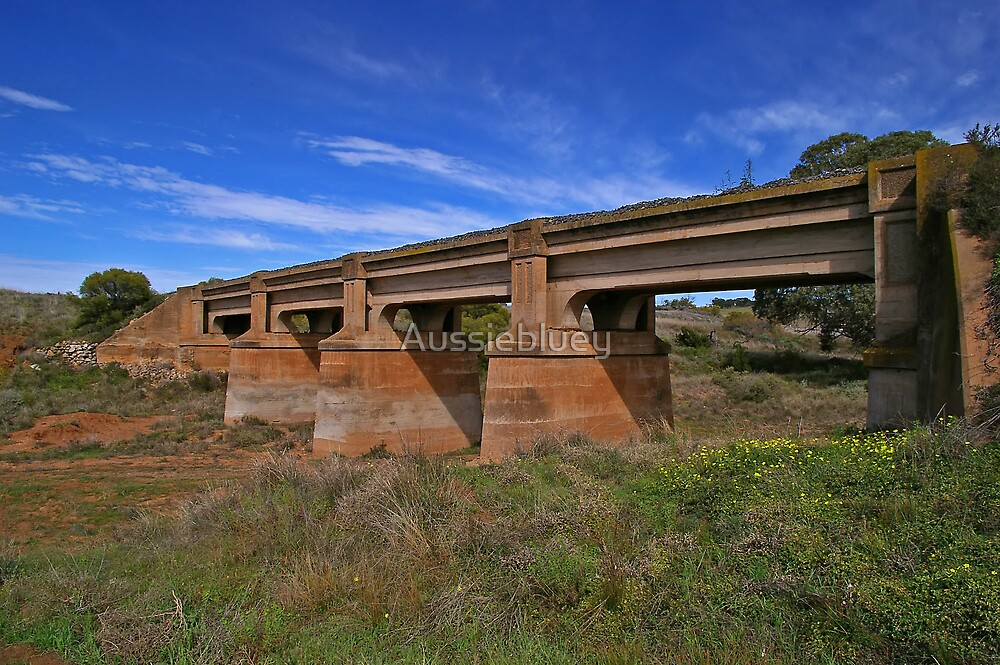Old Railbridge by Aussiebluey