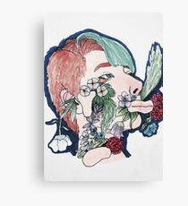 Floral Decay  Canvas Print