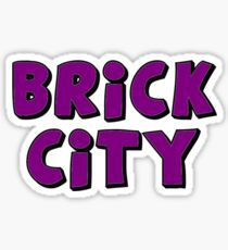 Brick City Sticker