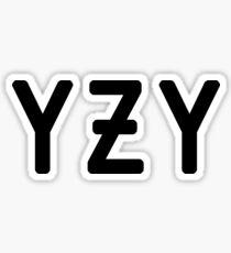 YZY - YEEZY - Kanye Sticker