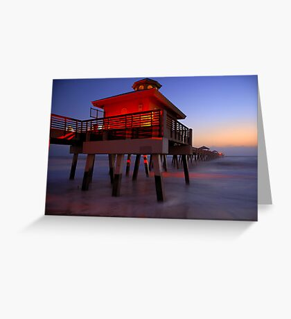 The Beach Lantern at Sunrise Greeting Card