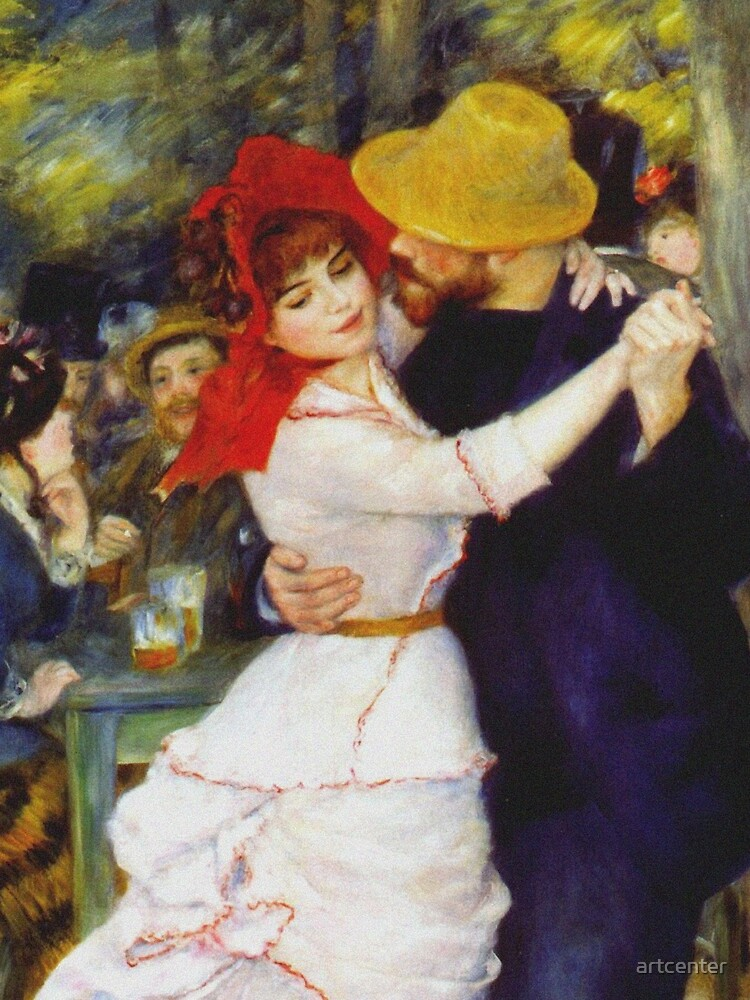 Auguste Renoir - Dance At Bougival 1883 by artcenter