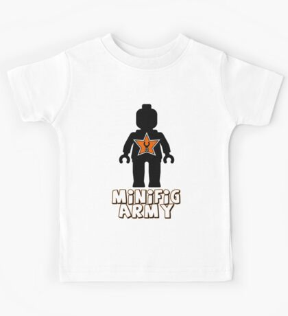 """MINIFIG ARMY"" Minifig with Customize My Minifig Star Logo Kids Clothes"