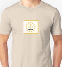 Rhode Island State Flag T-Shirt - Providence Sticker & Cell Phone Case T-Shirt