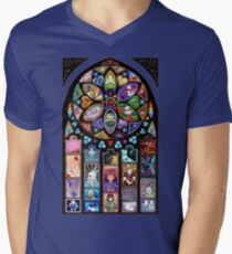 Undertale Universe Mens V-Neck T-Shirt