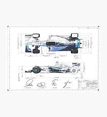 F1 Patent Photographic Print