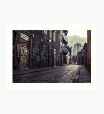 Dock Street Market (Brightened) Art Print