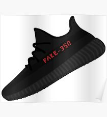 YEEZY BOOST 350 V2 Core Fake Poster