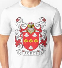 Acres Coat of Arms Unisex T-Shirt