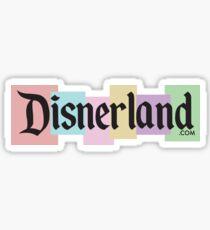 DISNERLAND! --- Disneyland parody Sticker