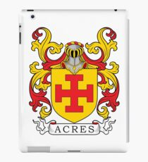 Acres Coat of Arms iPad Case/Skin