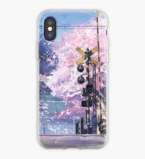 5 Centimeters Per Second Scenery iPhone Case
