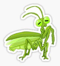 arthropals: mantis Sticker