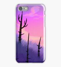 Purple wastes iPhone Case/Skin