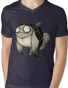 Drunk Wartortle Mens V-Neck T-Shirt