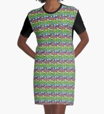 Trick or Treat with ghosts! Graphic T-Shirt Dress