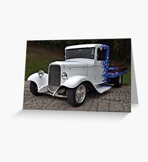 1934 Ford Hot Rod Pickup Truck  Greeting Card
