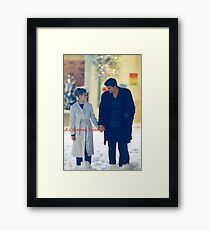 A Christmas Miracle Framed Print