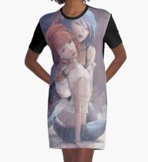 Lifi Is Strange Fan Art Graphic T-Shirt Dress