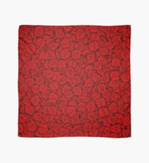 Red roses pattern Scarf