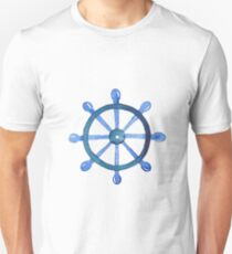Navigating the seas Unisex T-Shirt