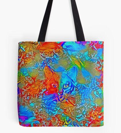Hiding in colors Tote Bag