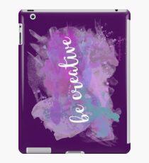Be creative Vinilo o funda para iPad