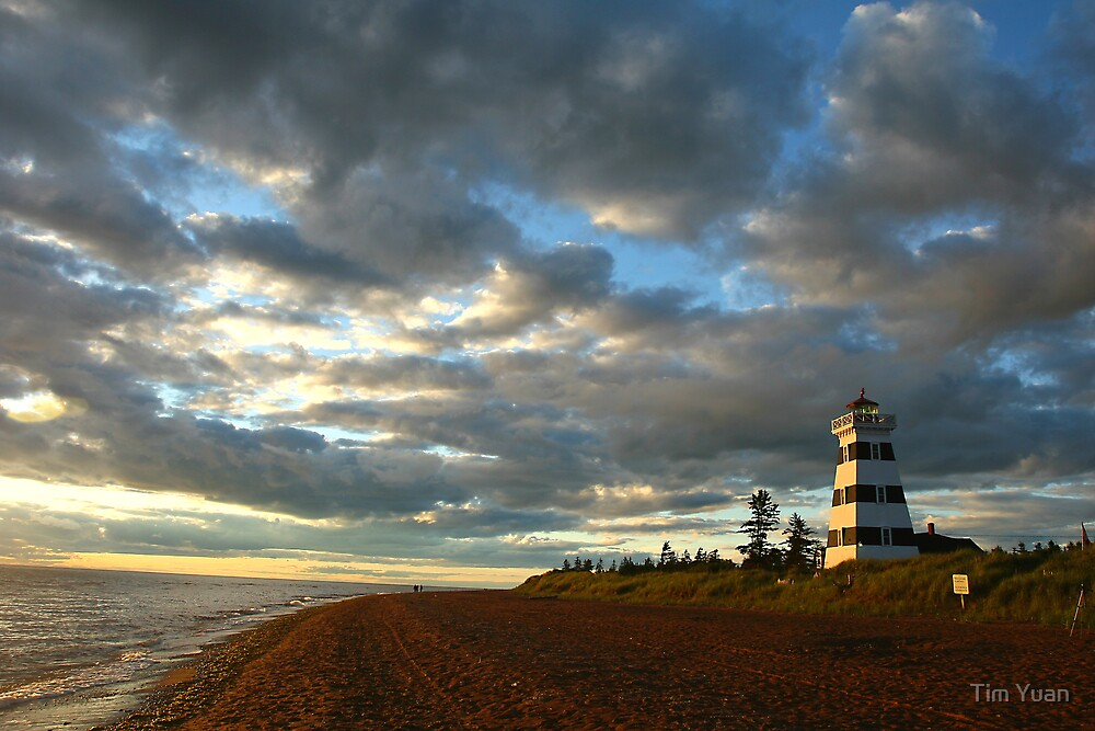 Lighthouse - West Point by Tim Yuan