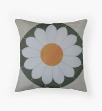 """""""BD""""Stained Glass Mosaic Design Throw Pillow"""