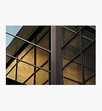 Contemporary modern office building construction Photographic Print