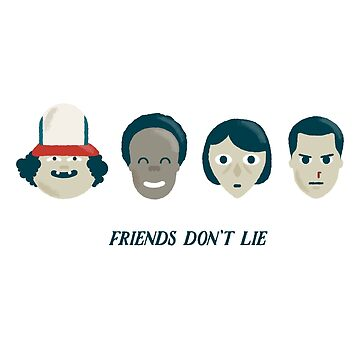 Stranger things - Friends do not lie by alexlaunay