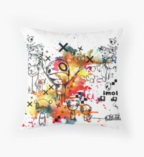I'm not scared. Throw Pillow