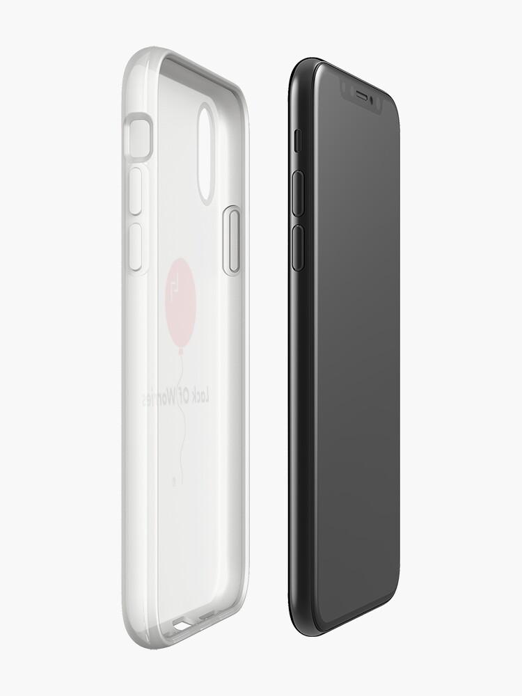 Alternative Ansicht von Mangel an Sorgen iPhone-Hülle & Cover