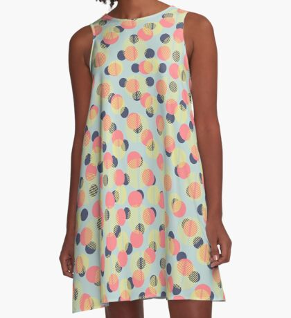 Carnival Confetti A-Line Dress