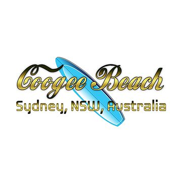 Coogee Surf (white text) by ceebeekay