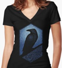 GUARDIAN Women's Fitted V-Neck T-Shirt