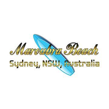 Surf Maroubra by ceebeekay