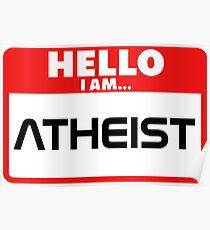 Antireligiös Poster