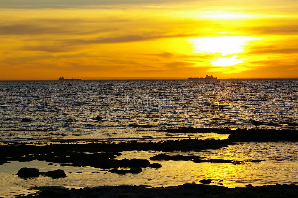 Yellow Sunset by Magnetic