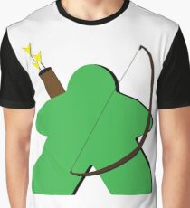 Archer Meeple Graphic T-Shirt