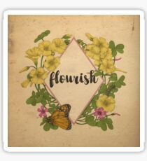 Flourish Sticker