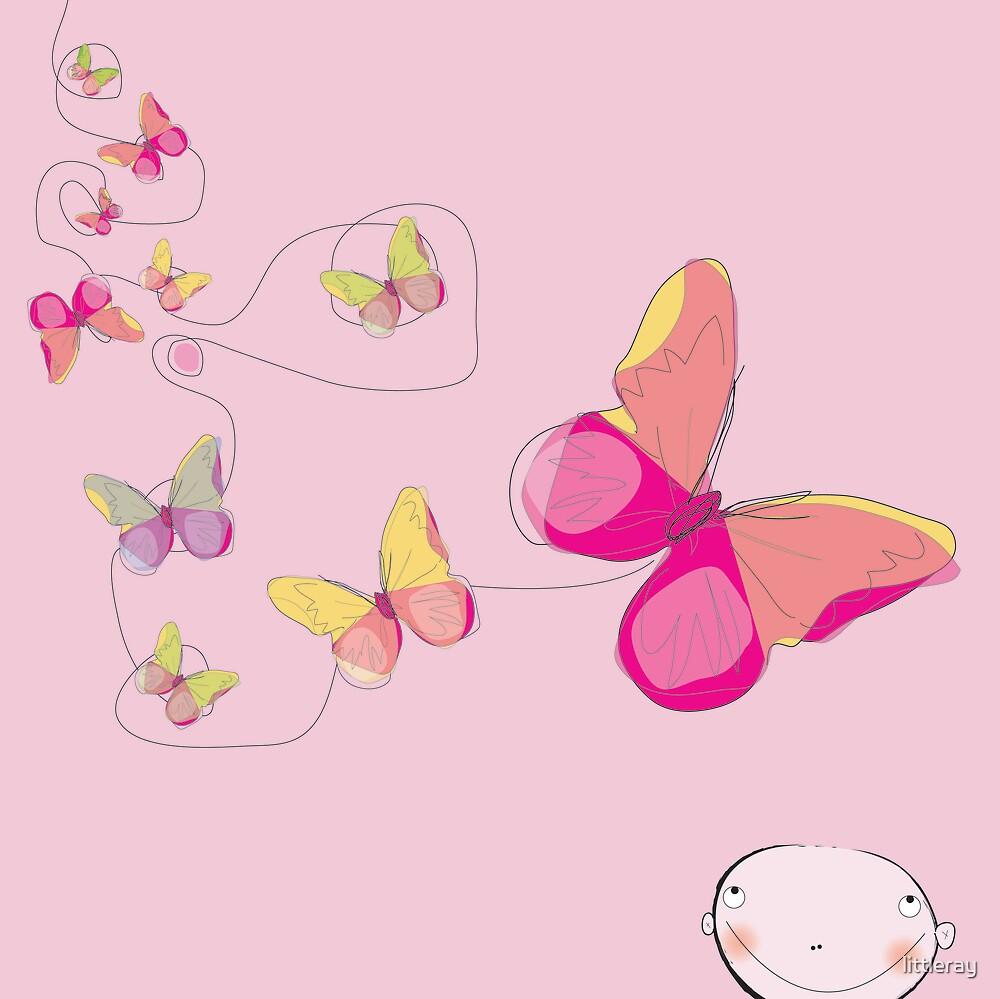 butterfly high by littleray