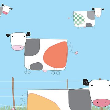 moo cows by littleray