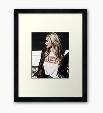Kylie Jenner Framed Print