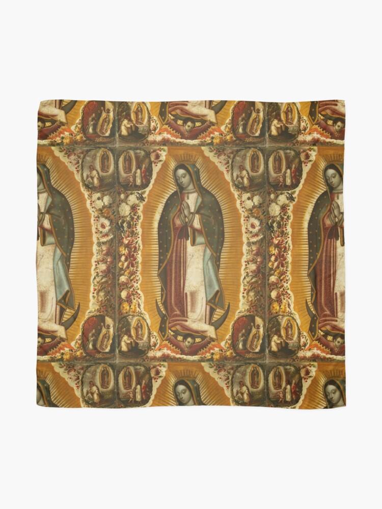 Alternative Ansicht von Unsere Liebe Frau von Guadalupe, Jungfrau Maria, Gottesmutter Tuch
