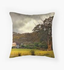 Country Farm Throw Pillow
