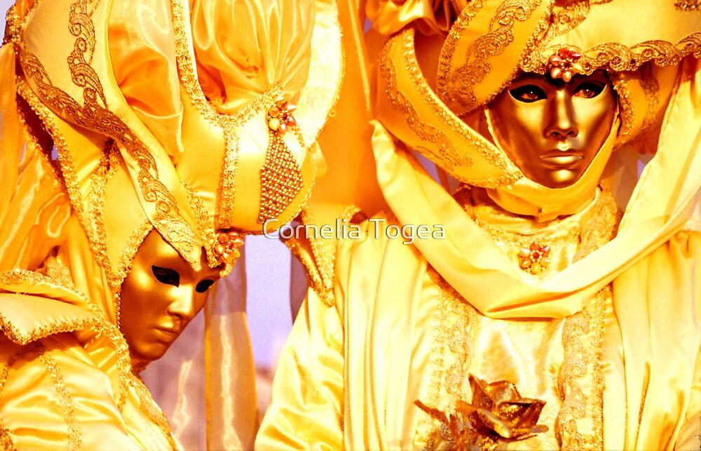 yellow couple by Cornelia Togea
