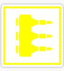 Quake 3 Arena - Machine Gun Sticker